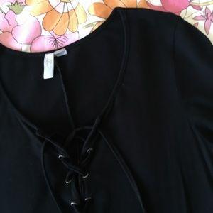 ASOS lace-up dress